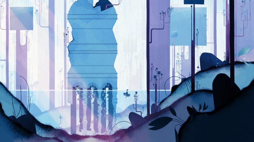 GRIS - Blue Screenshot