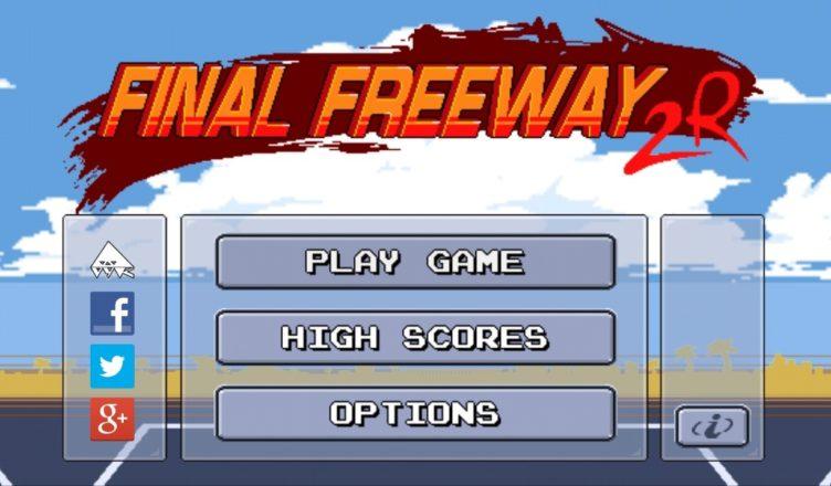Final Freeway 2R Title Screen