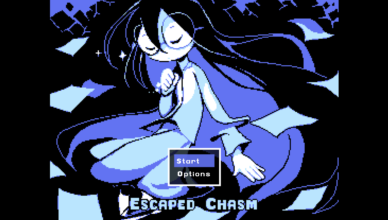 Escaped Chasm Menu Screenshot