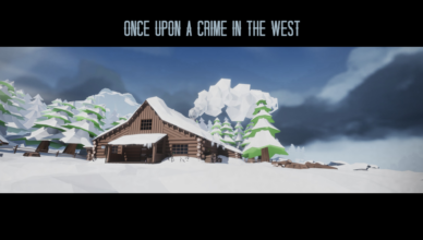 Once Upon a Crime in the West Title