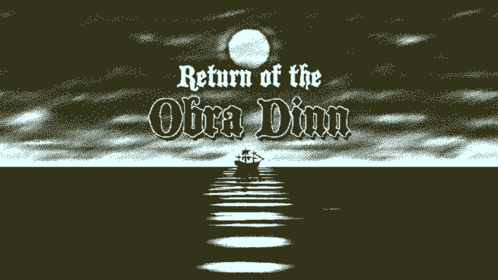 Return of the Obra Dinn - Title