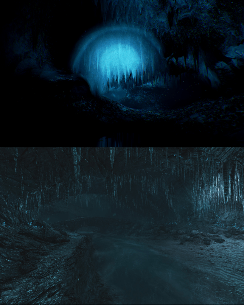 Fidelio Incident (top) VS Dear Esther (bottom)