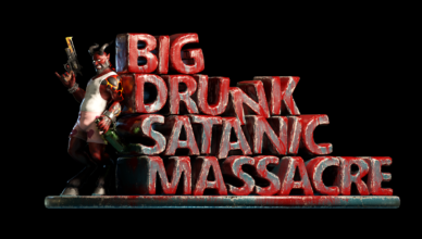 BDSM: Big Drunk Satanic Massacre Title
