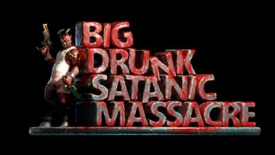 BDSM: Big Drunk Satanic Massacre Title
