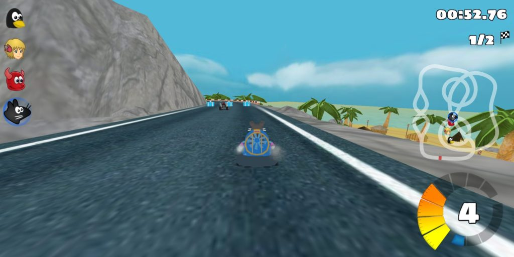 Image of Super Tux Kart on Android