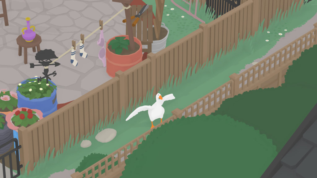 Untitled Goose Game Back Gardens Screenshot