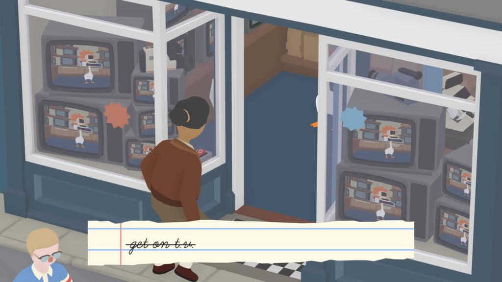 Untitled Goose TV Shop Task Screenshot