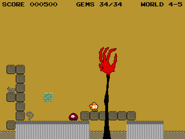 World 4, eversion 5 in the freeware version