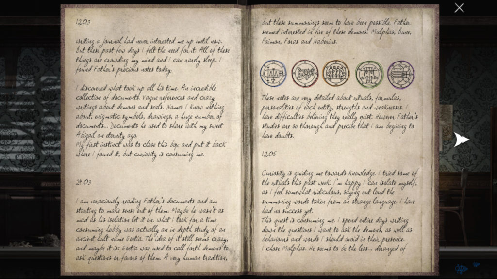 Goetia Demon and Sigil Information Screenshot
