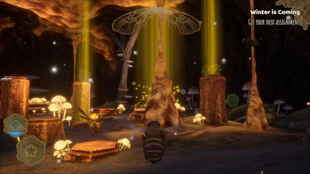 Bee Simulator Screenshot - Collecting Trophies in the Hive