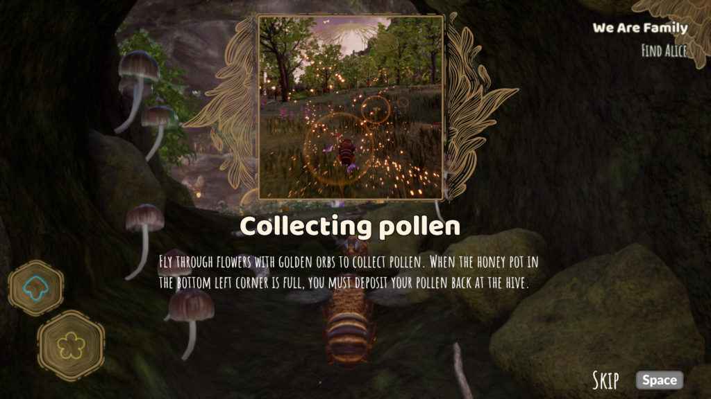 Bee Simulator Screenshot - Pollen Collection Challenge
