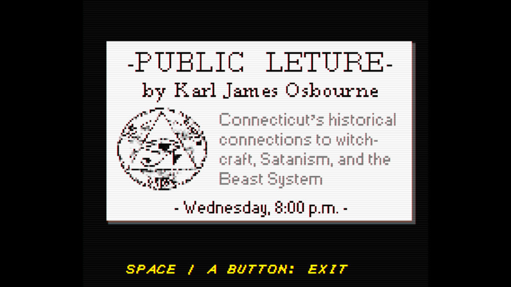 Faith Screenshot - Public Lecture Notice