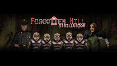 Forgotten Hill Disillusion Key Art