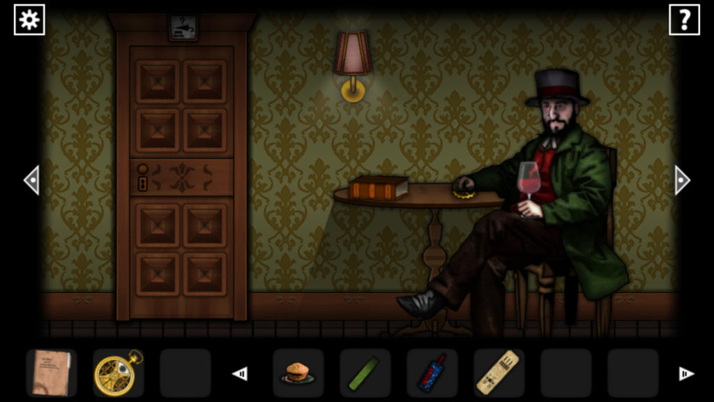 Forgotten Hill Disillusion Screenshot - Wine Drinker