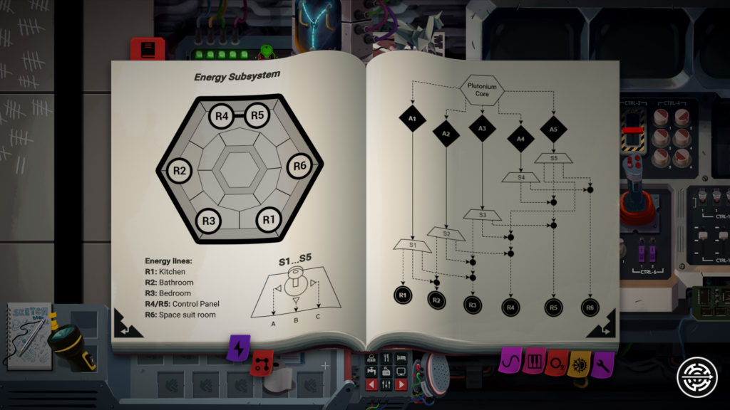 Still There Screenshot - Technical Manual Energy System