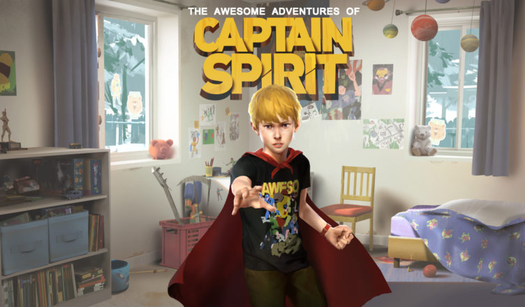 The Awesome Adventures of Captain Spirit - Key Art
