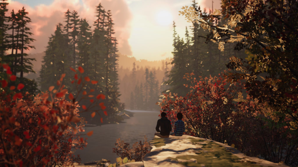 Life is Strange 2 Screenshot - Brothers on a Rock
