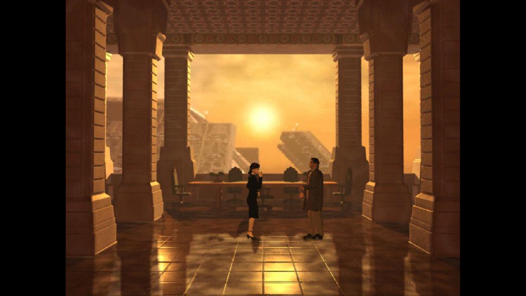 Blade Runner Video Game Screenshot