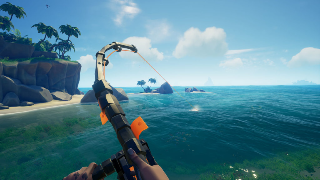 Sea of Thieves fishing screenshot