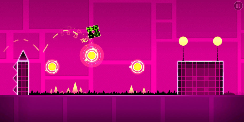 Geometry Dash screenshot of Polargeist