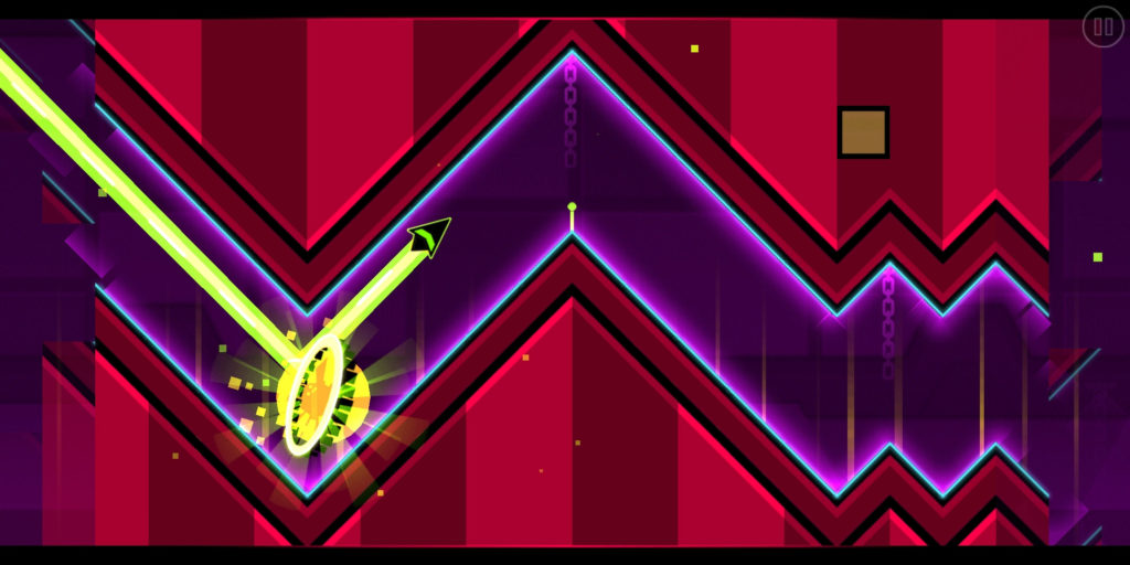 Geometry Dash screenshot of Deadlocked