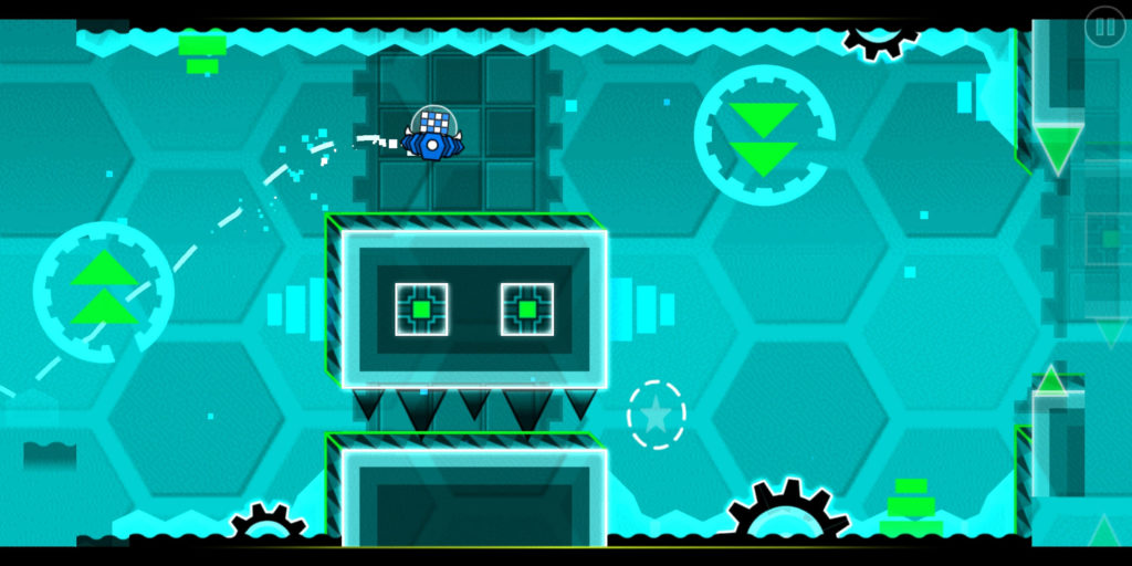Geometry Dash screenshot of Blast Processing