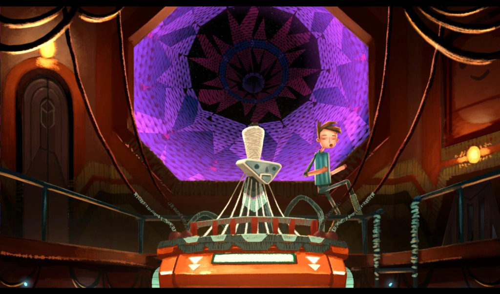 Broken Age Screenshot - Shay and the Space Weaver