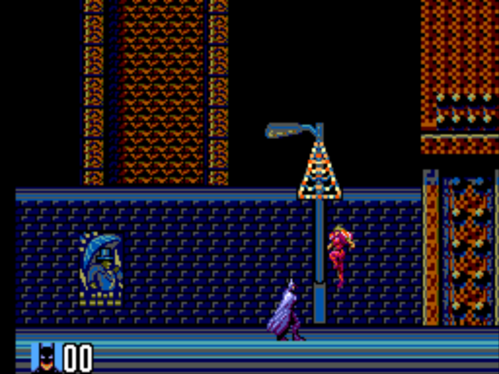 Screenshot of the first level