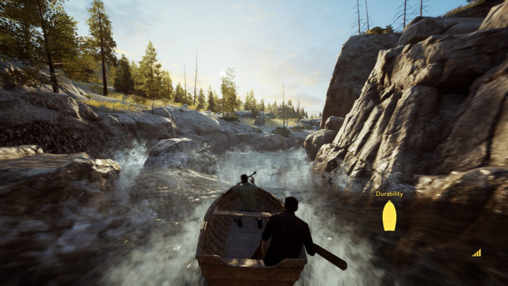 A Way Out Screenshot - Co-op White Water Row Boating
