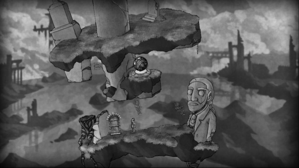 The Bridge Screenshot - Grave and Statue