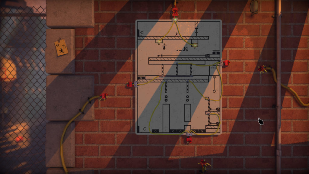The Pedestrian Screenshot - Tricky puzzle