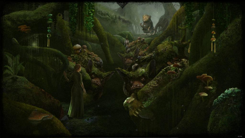 Mira Screenshot - Bzonac finds Mira through the Bulders