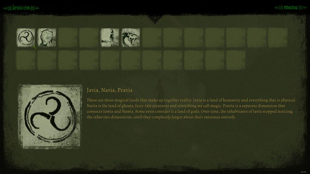 Mira Screenshot - Lexicon and Bad Translation Example