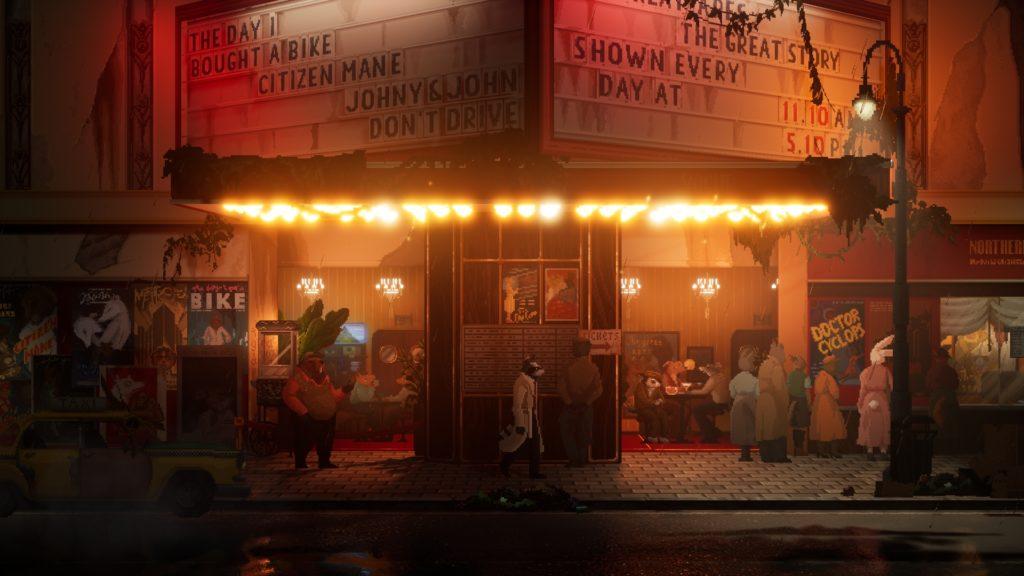 Backbone Screenshot - Late Night Cinema in Granville
