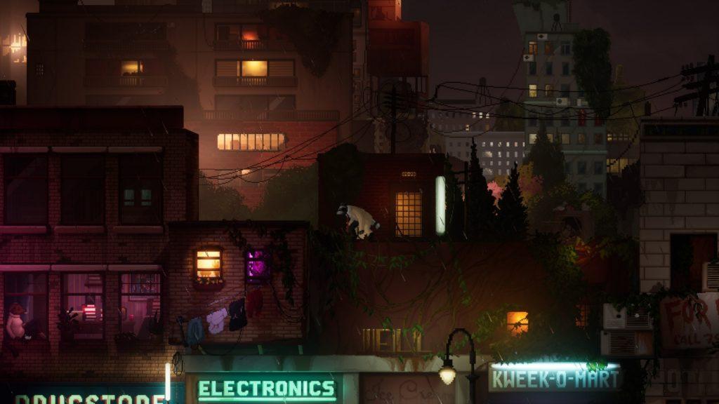 Backbone Screenshot - Raccoon Parkour