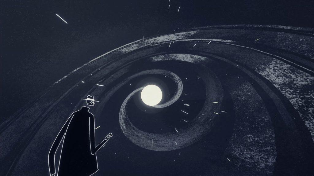Genesis Noir Screenshot - Cosmic Scene