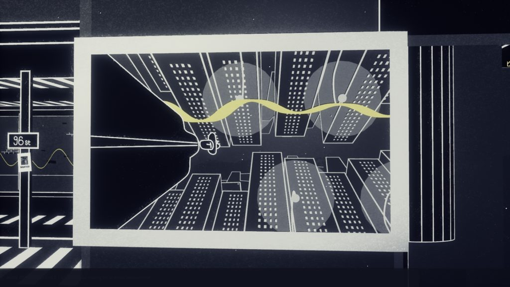 Genesis Noir Screenshot - Walking POV