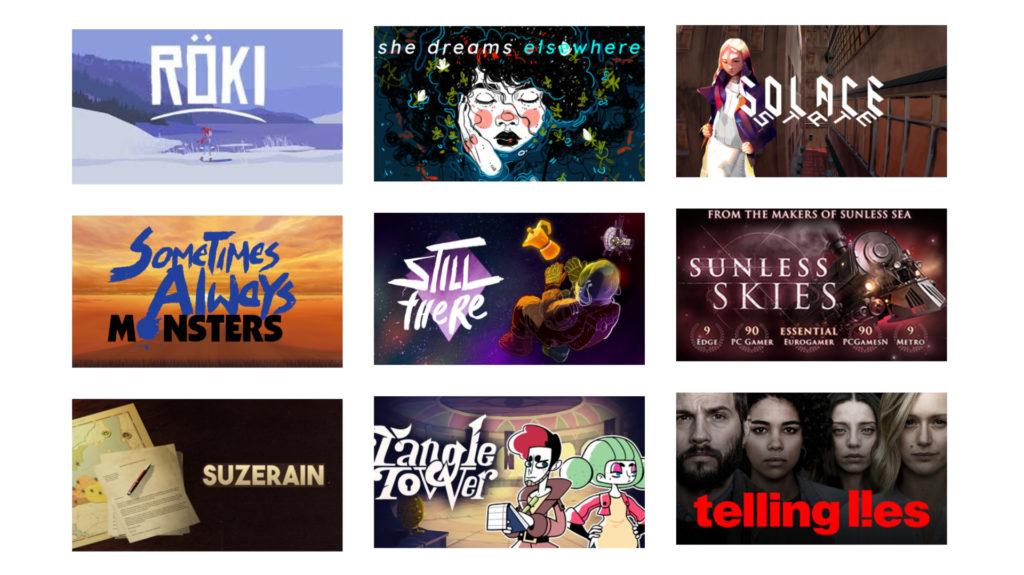 LudoNarraCon 2020 - Games and Exhibitors