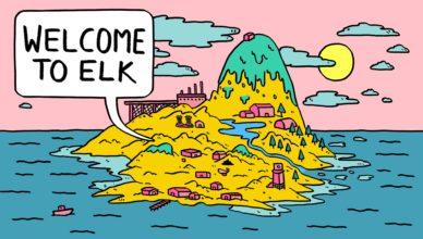 Welcome to Elk - Key Art