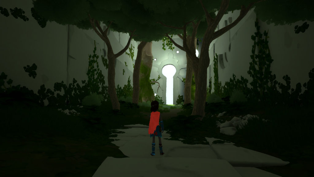 An entrance to some mysterious place in RiME