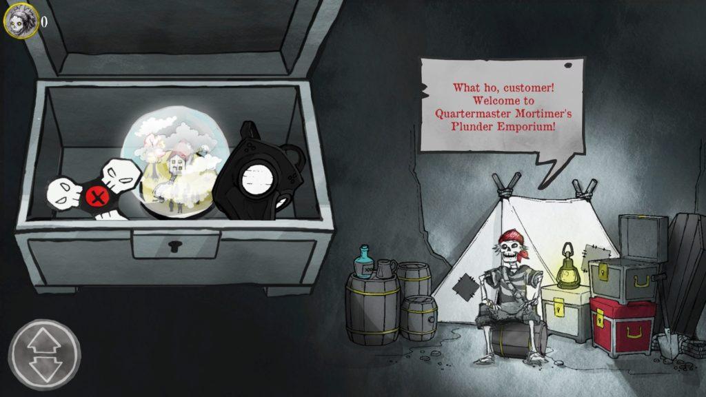 Death And Taxes Screenshot - Quartermaster Mortimer's Plunder Emporium