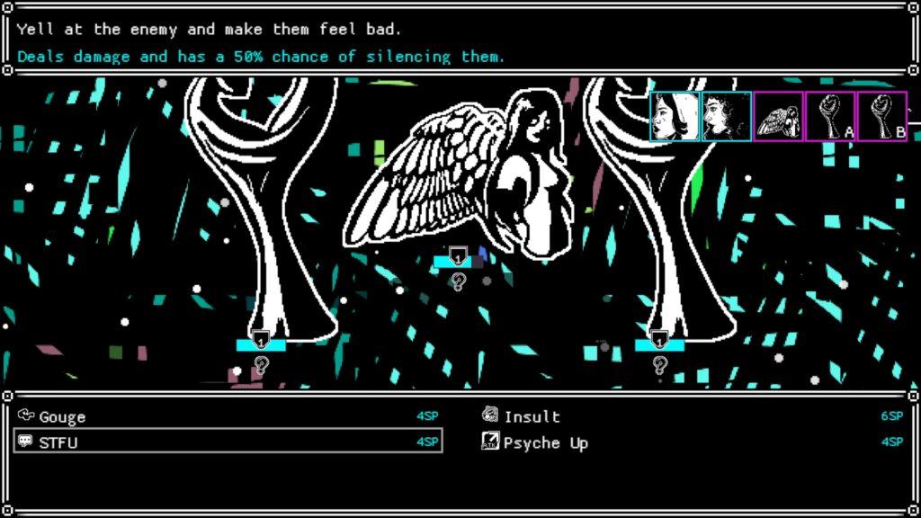 She Dreams Elsewhere Screenshot - Turn-Based Combat