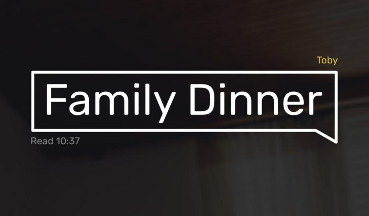 Family Dinner - Key Art