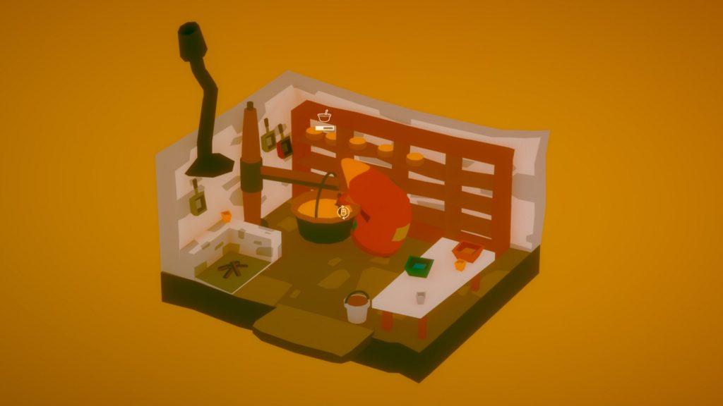 The Stillness of the Wind Screenshot - Cheese Making Mechanics