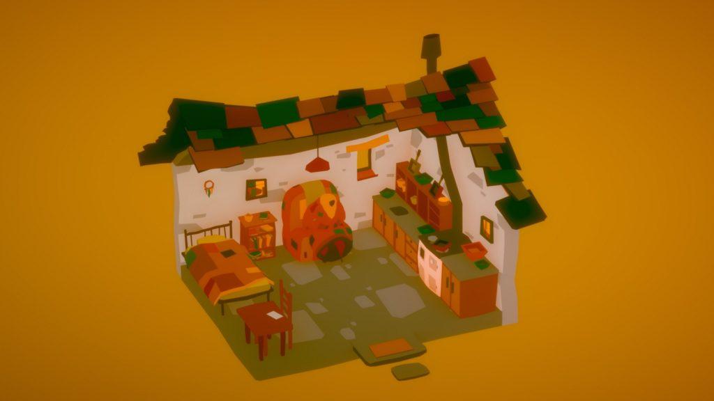 The Stillness of the Wind Screenshot - Inside Talma's Home