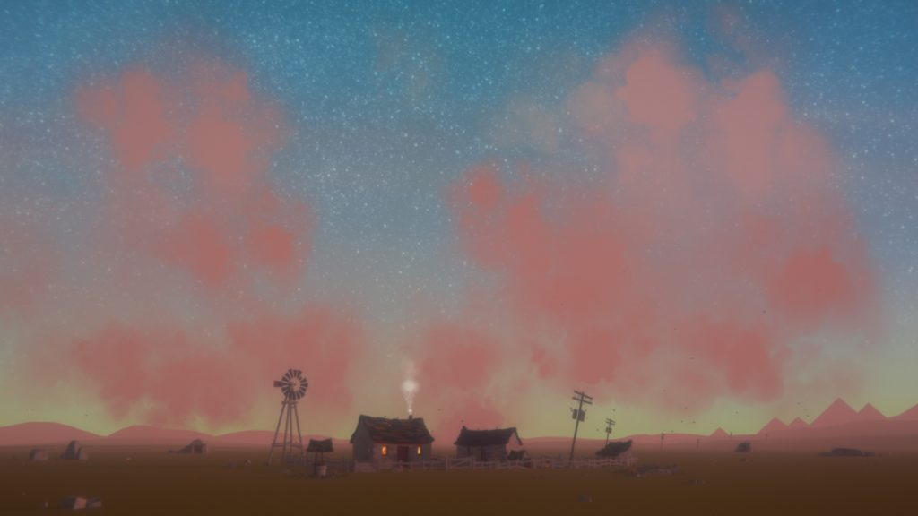 The Stillness of the Wind Screenshot - Last Hint of the Sunrise